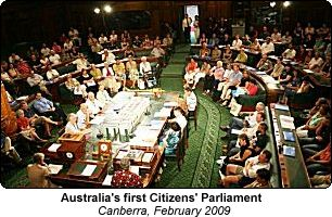 Australia's first Citizens' Parliament