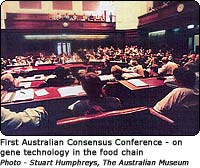 First Australian Consenus Conference